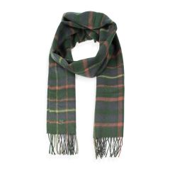 Men's Green Check Scarf