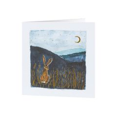 National Trust Moonlight Hare Christmas Cards, Pack of 10