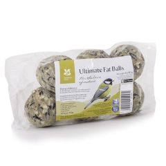 National Trust CJ Wildlife Ultimate Fat Balls, Pack of 6