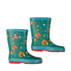 National Trust Frugi Woodland Wanders Puddle Buster Wellington Boots