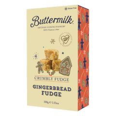 Gingerbread Crumbly Fudge