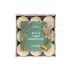 Winter Thyme Tealight Set
