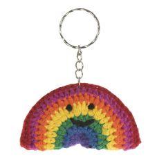 National Trust Crochet Rainbow Keyring