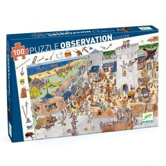 Fortified Castle Observation Jigsaw Puzzle, 100 Pieces