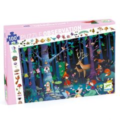 Enchanted Forest Observation Jigsaw Puzzle, 100 Pieces