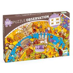 History Observation Jigsaw Puzzle and Booklet, 350 Pieces