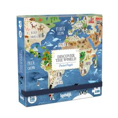 Pocket World  Jigsaw Puzzle, 100 Pieces