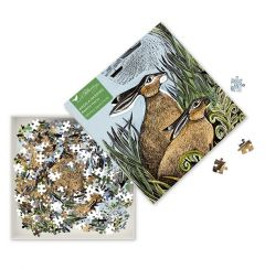 Angela Harding Rathlin Hares Jigsaw Puzzle, 500 Pieces