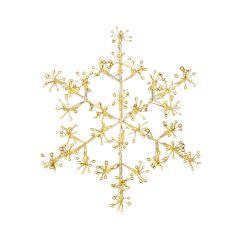 40cm Ultrabright Snowflake Light, Warm White