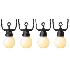 10 Outdoor Party Lights with Warm White LEDs
