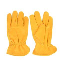 Luxury Leather Garden Gloves, Large