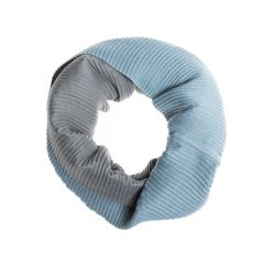 Two Tone Pleated Snood