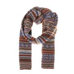 Men's Fairisle Knit Scarf