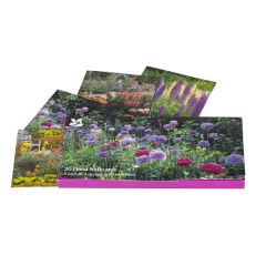Notecards Photographic Florals Duo Wallet x20