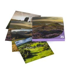 National Trust Landscape Notecards x8