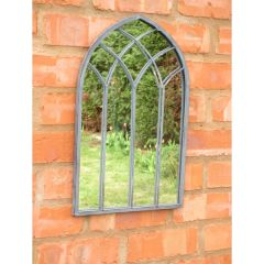 Outdoor Gothic Mirror, 48cm