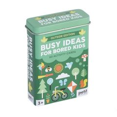 Busy Ideas For Bored Kids: Outdoor Edition