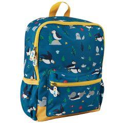 Frugi and National Trust Adventurer's Backpack, Paddling Puffins