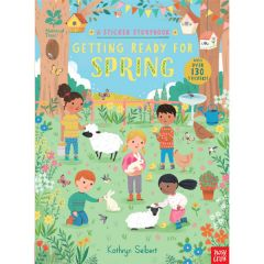 National Trust Sticker Storybook, Getting Ready for Spring