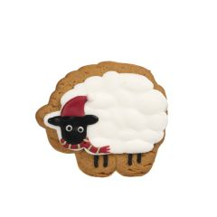 Iced Gingerbread Biscuit, Sheep