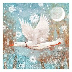 Hare and Goose Christmas Cards, Pack of 10