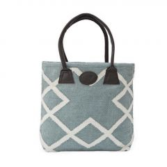 Weaver Green Shopper Bag, Juno Teal