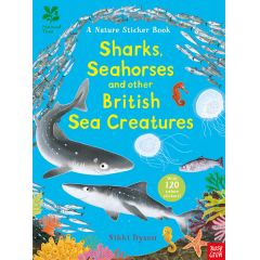 National Trust Nature Sticker Book: Sharks, Seahorses and other British Sea Creatures