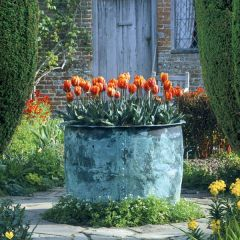 Sissinghurst Castle Garden Copper Planter