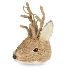 Reindeer Head Decoration