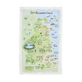 National Trust Northumberland Cotton Tea Towel