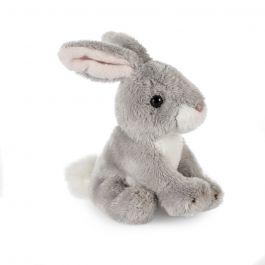 Grey Rabbit Soft Toy, Small
