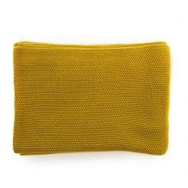 Makani Cotton Throw, Mustard