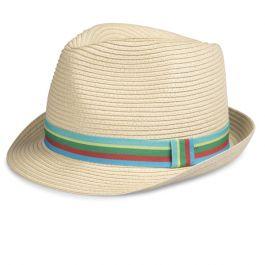 Children's Woven Trilby Hat