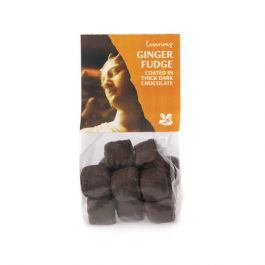 National Trust Chocolate Coated Ginger Fudge