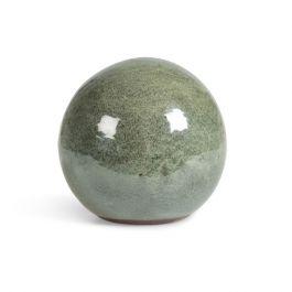 Green Glazed Decorative Ball
