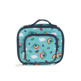 Frugi and National Trust Lunch Bag, Pacific Aqua/Snail