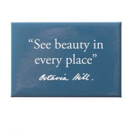 National Trust Celebration Beauty Quote Magnet