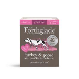 National Trust Forthglade Wet Dog Food, Turkey and Goose (7 x 395g)