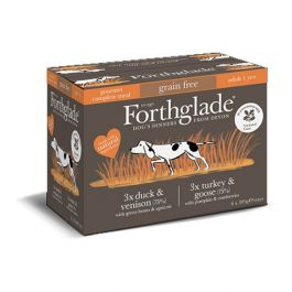 National Trust Forthglade Wet Dog Food, Variety Pack (6 x 395g)