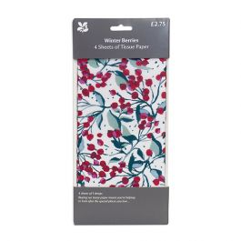 Winter Berries Tissue Paper