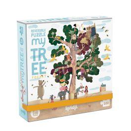 Pocket My Tree Jigsaw Puzzle, 100 Pieces