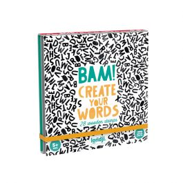 Wooden Stamps, Create Your Words