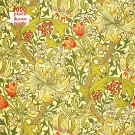 William Morris Gallery Golden Lily Puzzle, 1000 Pieces