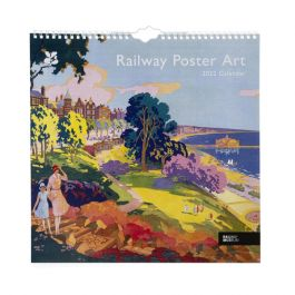 National Trust 2022 Railway Poster Art Calendar