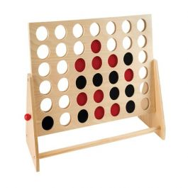 Wooden Four In A Row Game