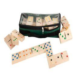 Wooden Dominoes Game