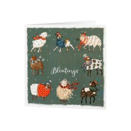 National Trust Winter Woolies Christmas Cards, Pack of 10