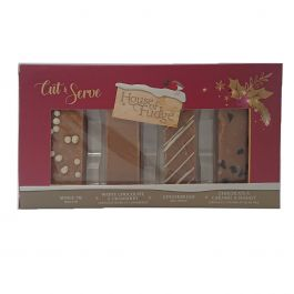 Cut and Serve Selection of Christmas Fudge