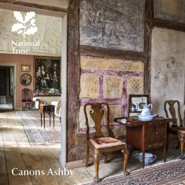 National Trust Canons Ashby Guidebook