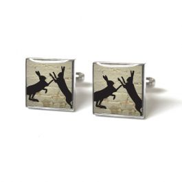 Tyler and Tyler Hare Cufflinks